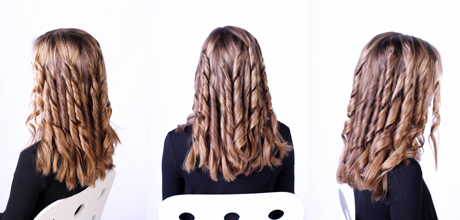 After Your Hair Is Cool You Can Begin Pulling Fingers Through To Loosen The Curls Into Waves