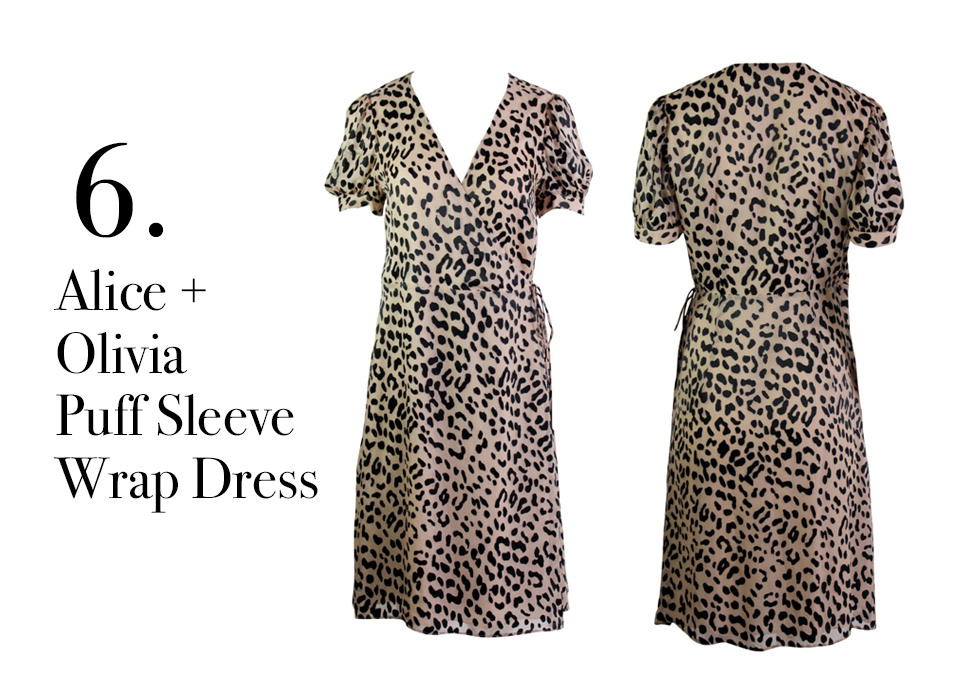 00b00a2ed3a4 This Alice and Olivia leopard wrap dress is a classic piece that could be  worn for years to come. In my opinion